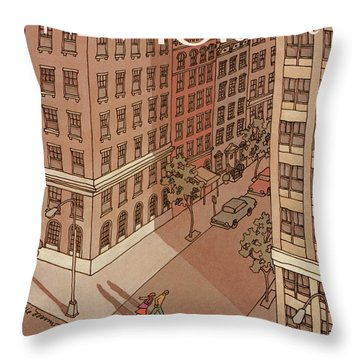 New Yorker October 6th, 1986 Throw Pillow