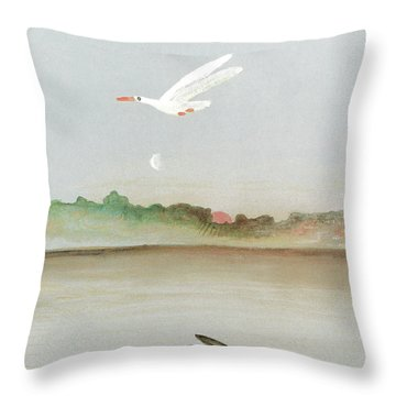 Hibernation Throw Pillows