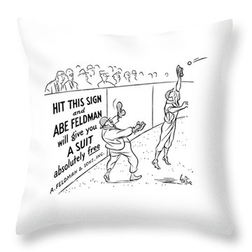 New Yorker October 8th, 1938 Throw Pillow