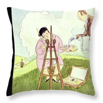 New Yorker September 1 1928 Throw Pillow