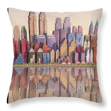 New Yorker September 15th, 2003 Throw Pillow