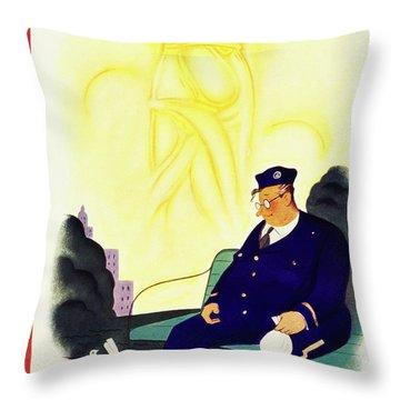 New Yorker September 18 1937 Throw Pillow