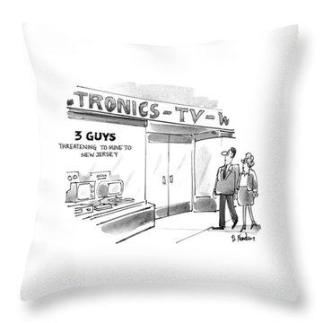 New Yorker September 20th, 1993 Throw Pillow