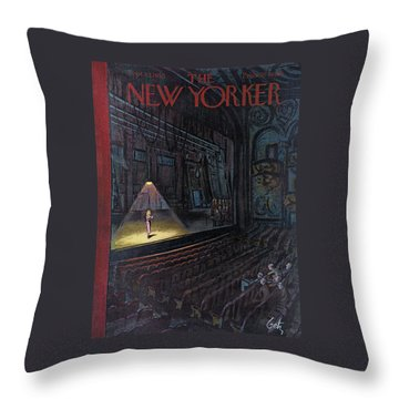 New Yorker September 23rd, 1950 Throw Pillow