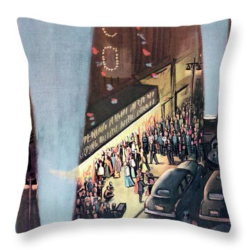New Yorker September 26th, 1953 Throw Pillow