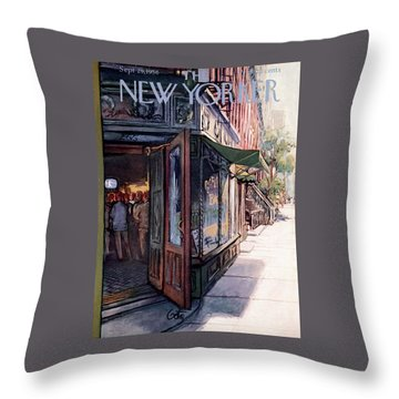 New Yorker September 29th, 1956 Throw Pillow
