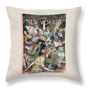 New Yorker September 29th, 1997 Throw Pillow