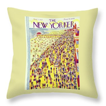 New Yorker September 3 1932 Throw Pillow