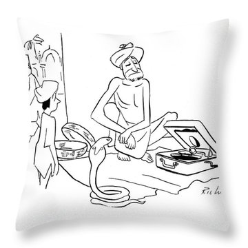 New Yorker September 30th, 1944 Throw Pillow
