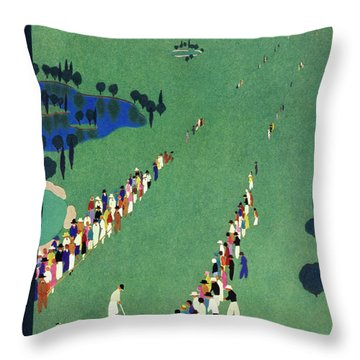 New Yorker September 5 1936 Throw Pillow