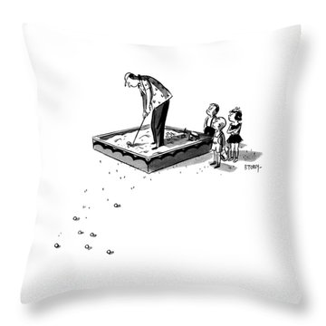 Watch Out Throw Pillows