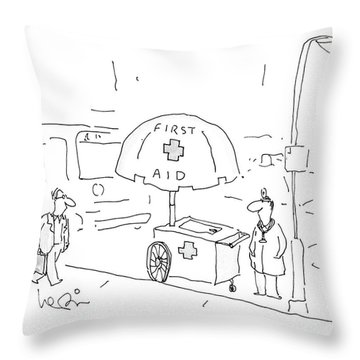 New Yorker September 5th, 1988 Throw Pillow