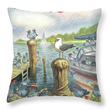 New Yorker September 5th, 1994 Throw Pillow