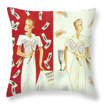 New Yorker September 7 1935 Throw Pillow