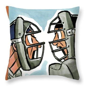 1951 Throw Pillows