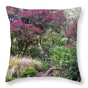 New Zealand Tea Tree II Throw Pillow