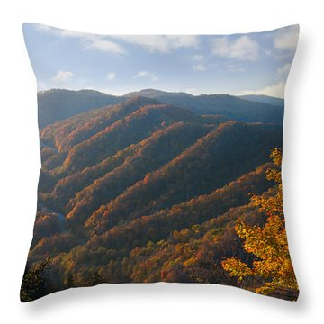 Newfound Gap Throw Pillow