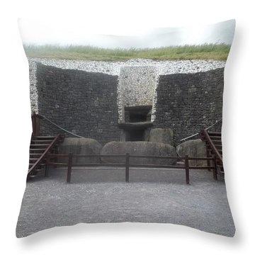 Newgrange Throw Pillow