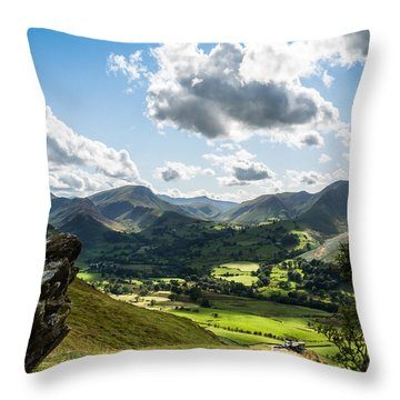 Newlands Valley View Throw Pillow