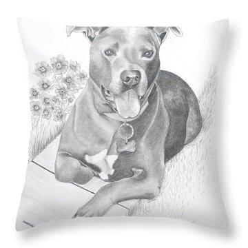 Newman Throw Pillow