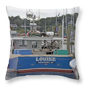 Newport Louise Boat Throw Pillow