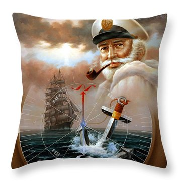 Imperishable Map Captain 2 Throw Pillow