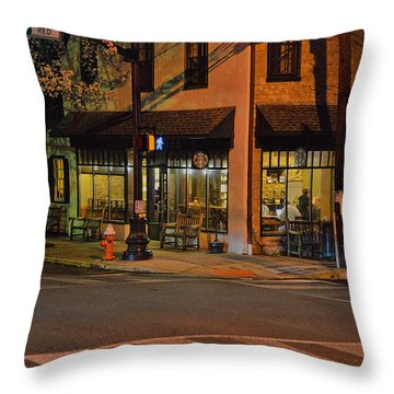 Newtown Nighthawks Throw Pillow