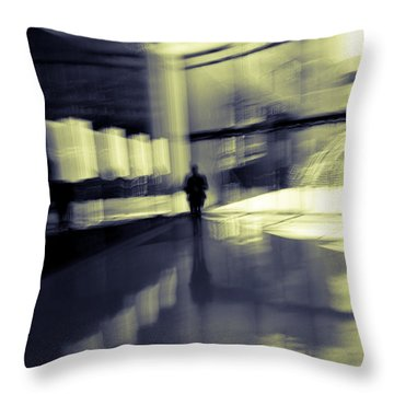 Throw Pillow featuring the photograph Nexus by Alex Lapidus