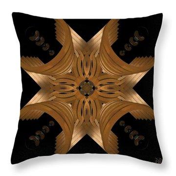 Nexus Throw Pillow by David Voutsinas