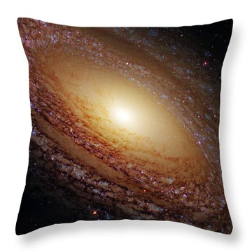 Ngc 2841 Throw Pillow