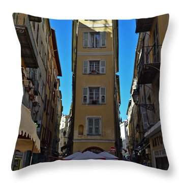 Nice - La Maison Throw Pillow