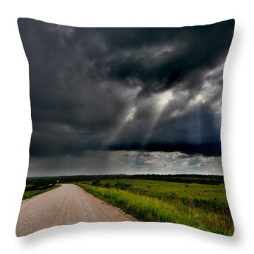 Nice Light Throw Pillow