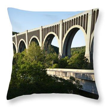 Nicholson Bridge Throw Pillow