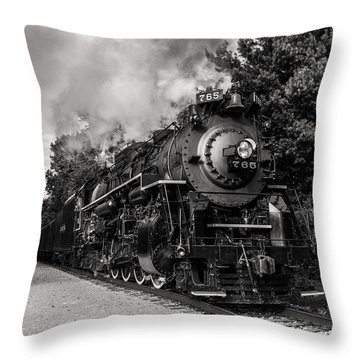 Nickel Plate Berkshire 765 Throw Pillow
