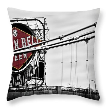 Nicollet Island Treasure Throw Pillow