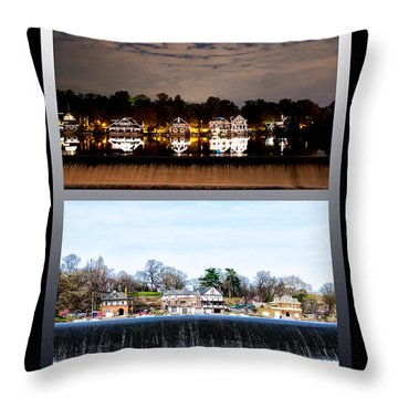 Night And Day Throw Pillow by Bill Cannon