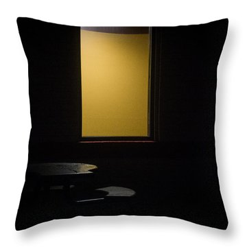Night And Fog Number 2 Throw Pillow