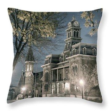 Night Court Throw Pillow