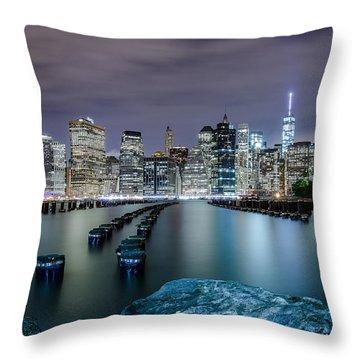 Night Crawler  Throw Pillow