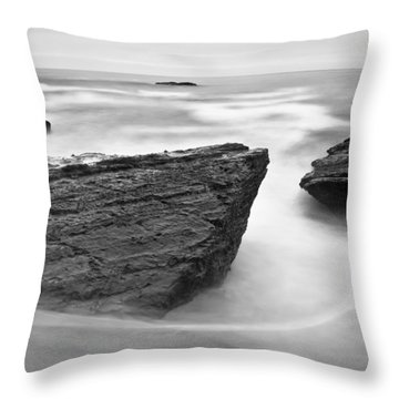 Throw Pillow featuring the photograph Night Fall by Jonathan Nguyen