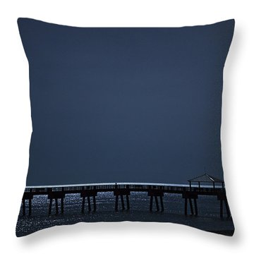 Night Influence Throw Pillow by Laura Fasulo