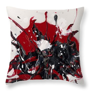 Night Mares Throw Pillow by Phil Strang
