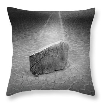 Night Moves Throw Pillow by Bob Christopher