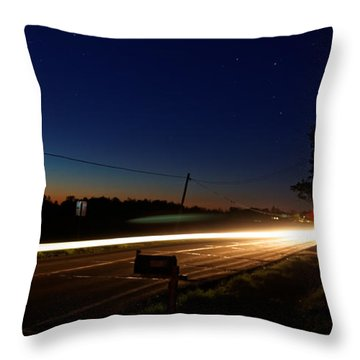 Night Passing Throw Pillow