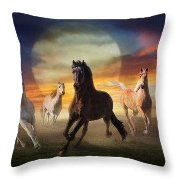 Night Play Throw Pillow