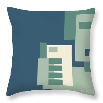 Her Night Selfie Throw Pillow