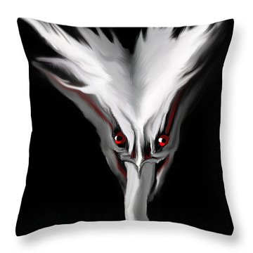 Night Terror Throw Pillow