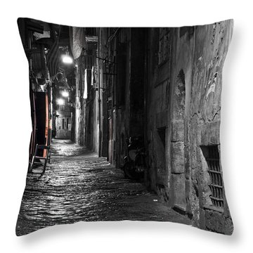 Night-time Throw Pillow by Marion Galt