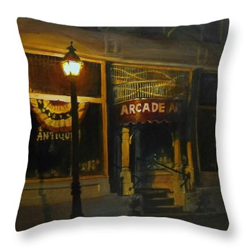 Night Time Throw Pillow
