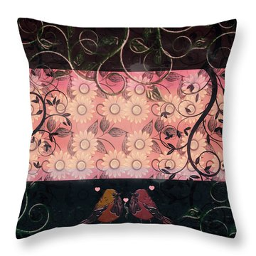 Night Turned To Day Throw Pillow